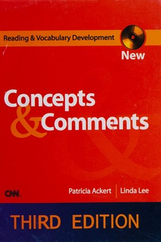 Reading and Vocabulary Development (Concepts and Comments) - 3nd