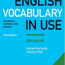 English Vocabulary in use - Advanced (3nd)